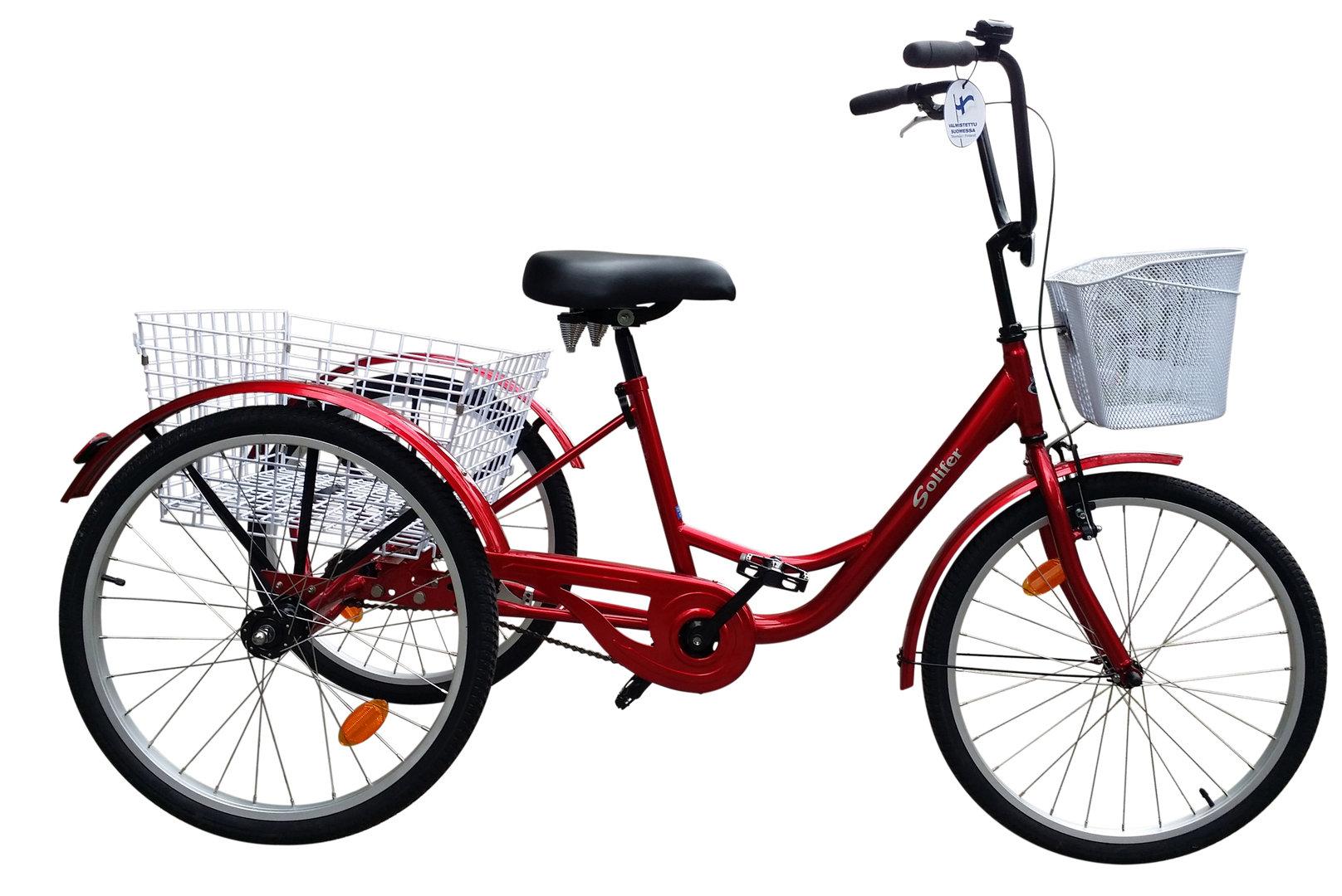 Aikuisten kolmipyörä käytetty