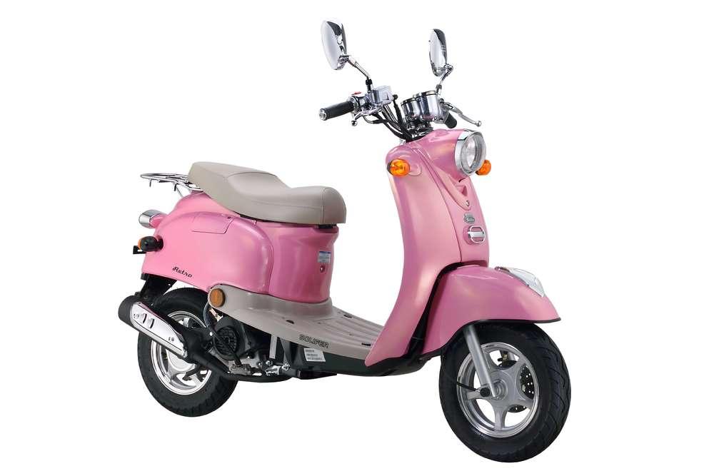 pinkki skootteri